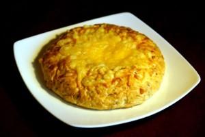 Bułka kukurydziana z serem